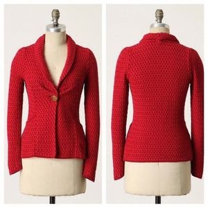 Anthropologie Honey From The Bees Cardigan XL